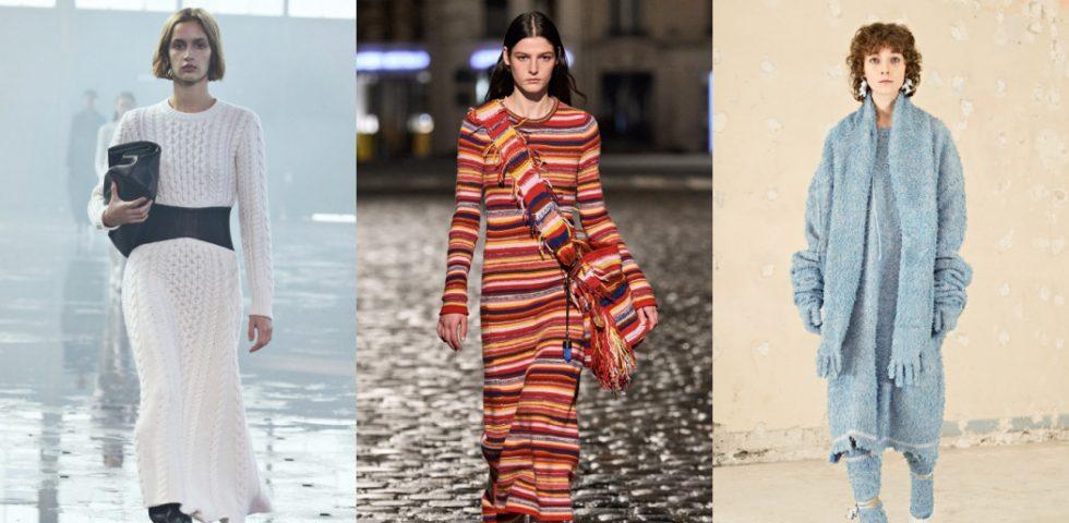 Abiti lunghi in lana, i modelli must have dell'Autunno-Inverno 2021/2022