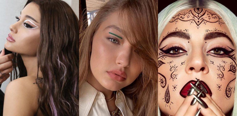 Graphic liner makeup: la tendenza make up amata da Ariana Grande e Gigi Hadid