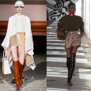 Trend stivali: cuissardes, cavallerizza, stringati & Co.