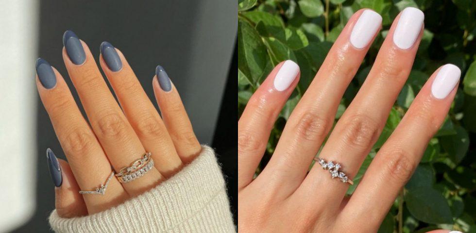 Unghie opache (bianche, rosse e grigie): tutto sulla manicure matte