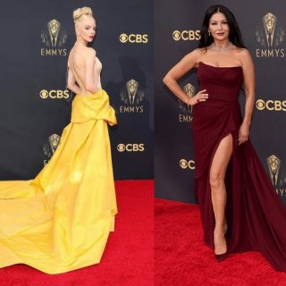 Emmy Awards 2021, i look più belli sul red carpet
