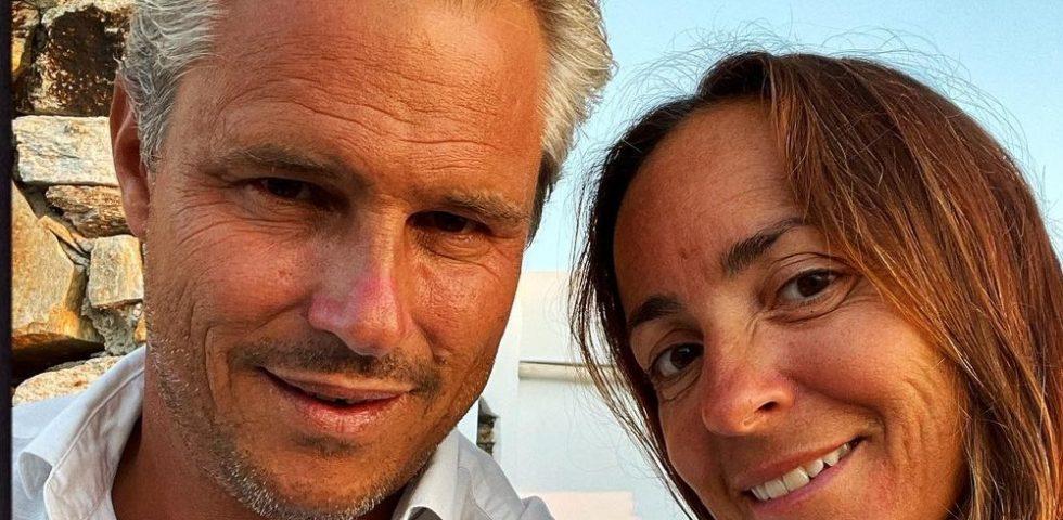 Camila Raznovich ha detto di nuovo Sì all'imprenditore francese Loic Fleury