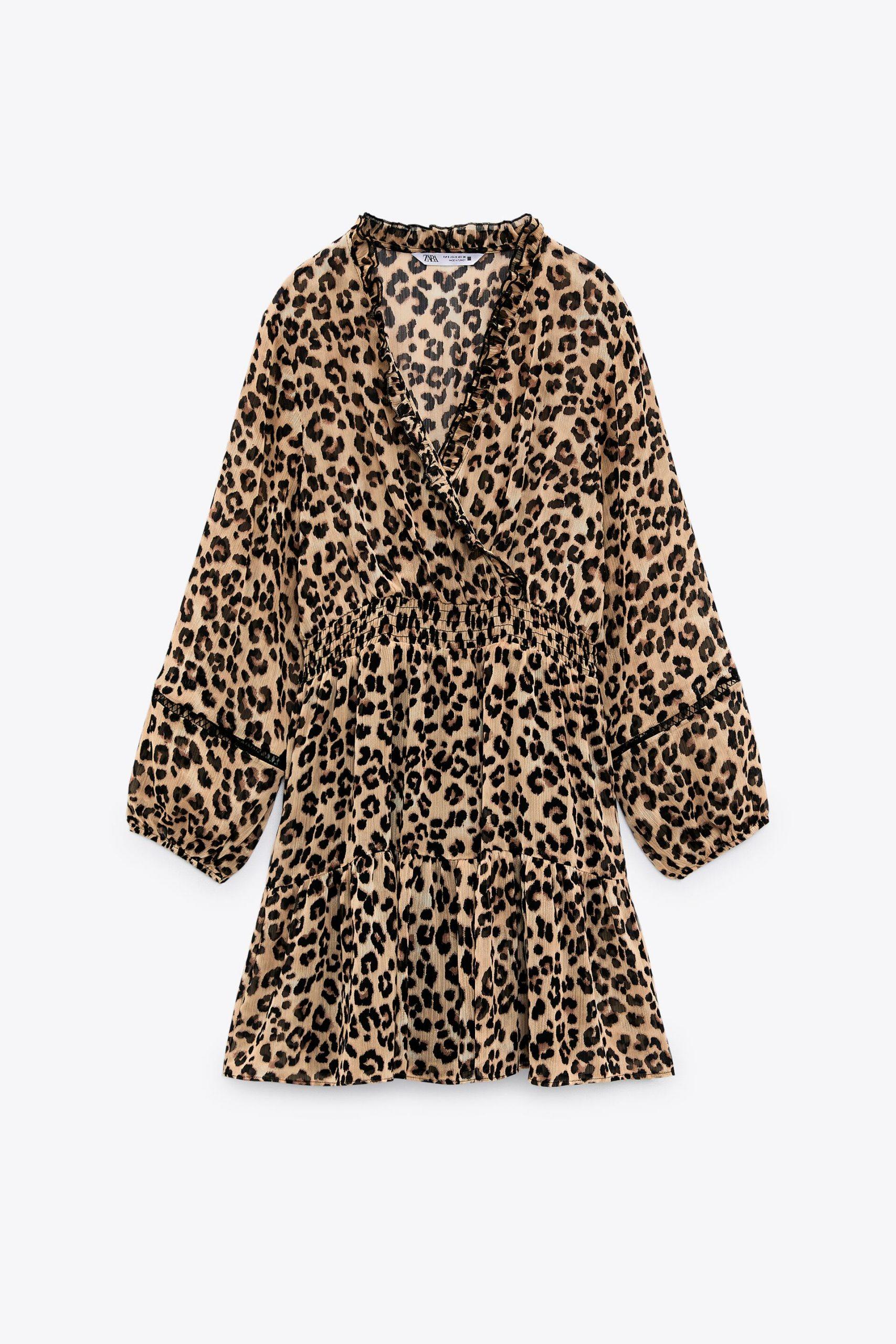 Vestito maculato Zara