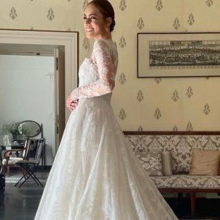 Tutti i dettagli sugli abiti da sposa di Miriam Leone