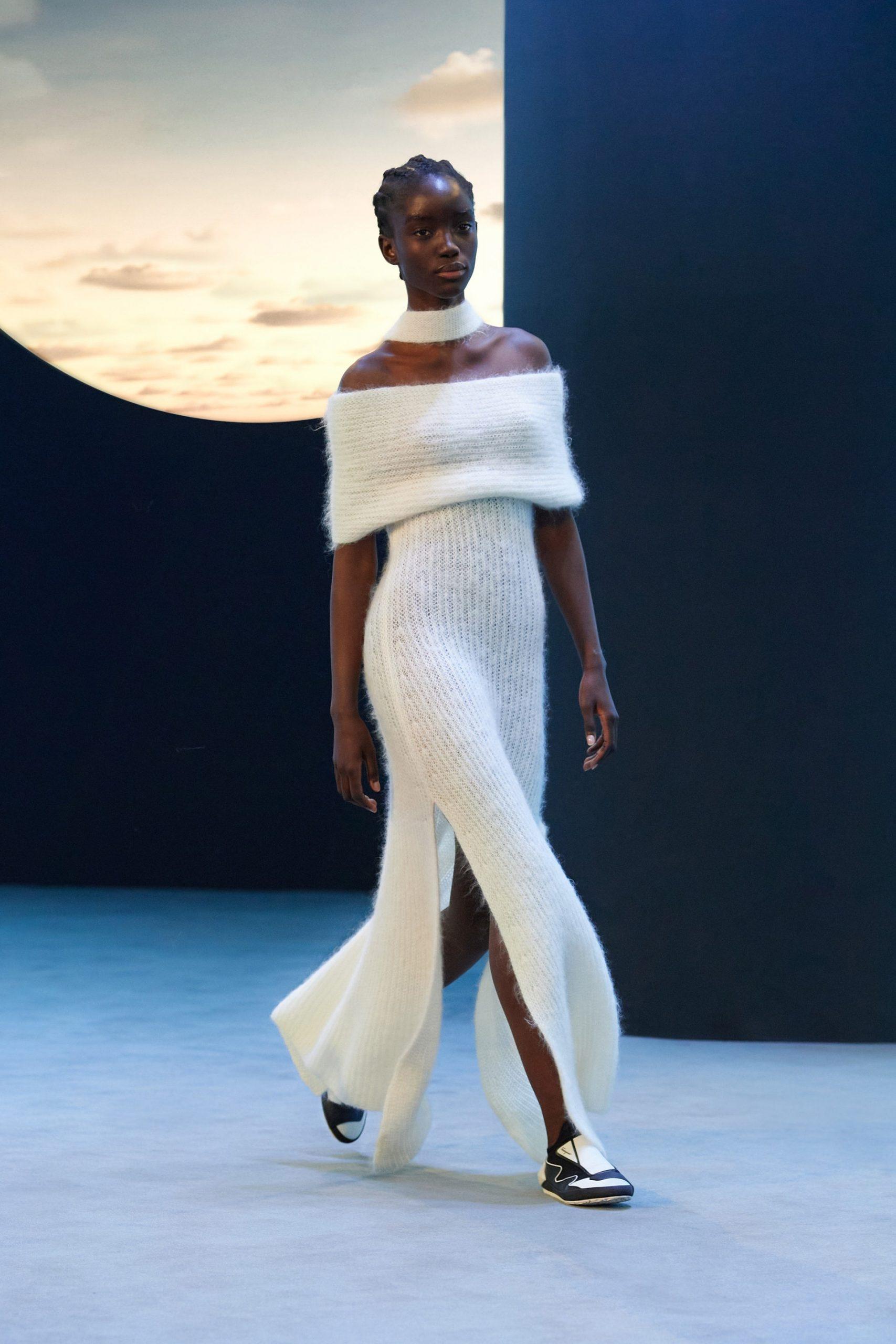 vestito bianco ferragamo
