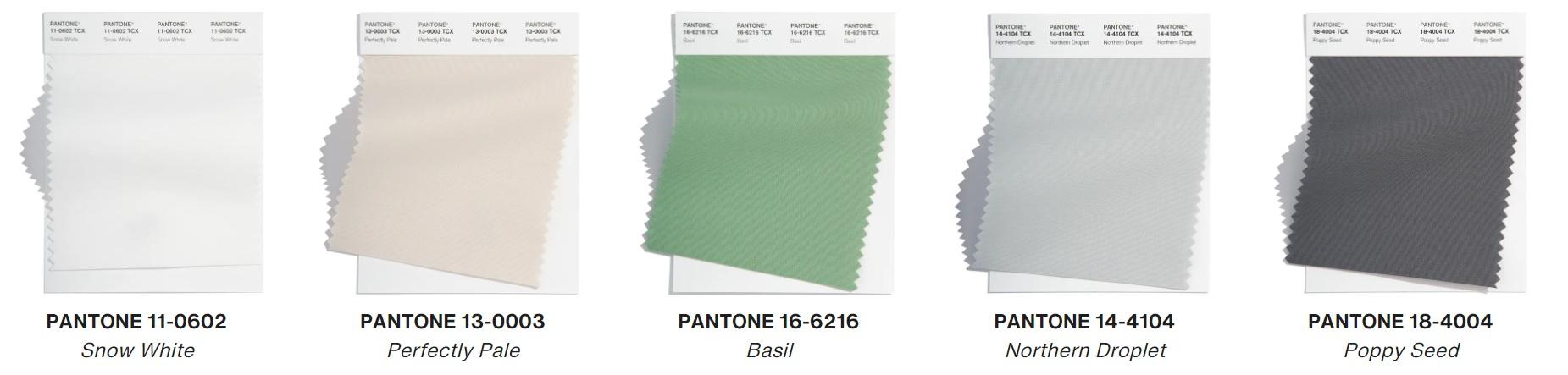 Colori Pantone estate 2022