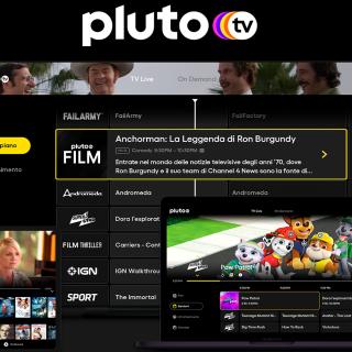 Pluto Tv sbarca in Italia (e sarà completamente gratuito!)