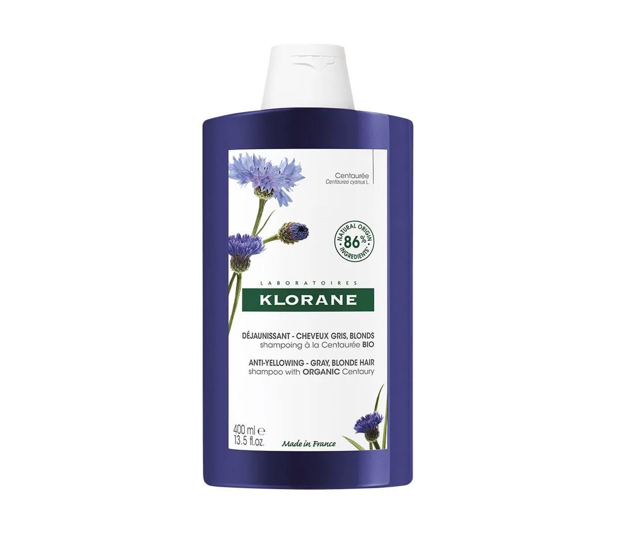 Klorane - Shampoo alla Centaurea Bio anti ingiallimento