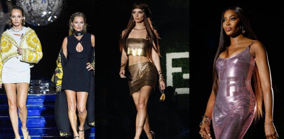 Fendi + Versace: la sfilata evento Fendace in 5 momenti da ricordare