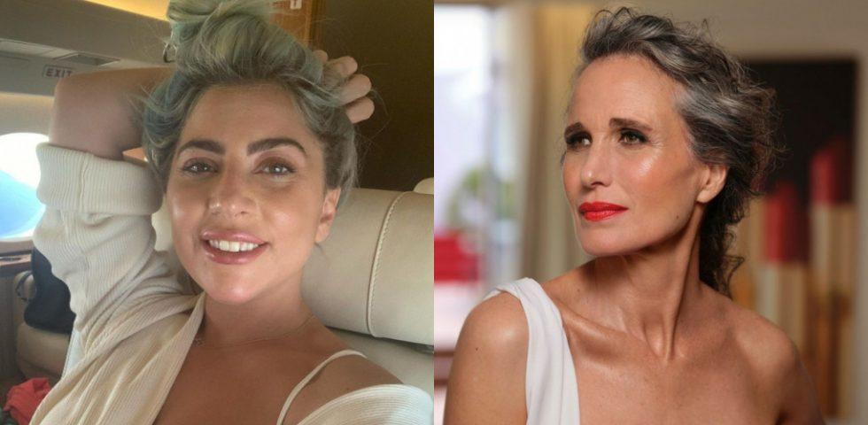 Trucco per capelli grigi: qual è il make up più adatto
