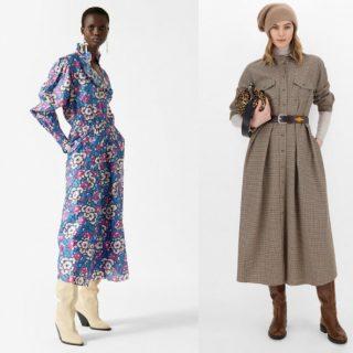 Vestiti Inverno 2022: con spacco, florale ed effetto pelle