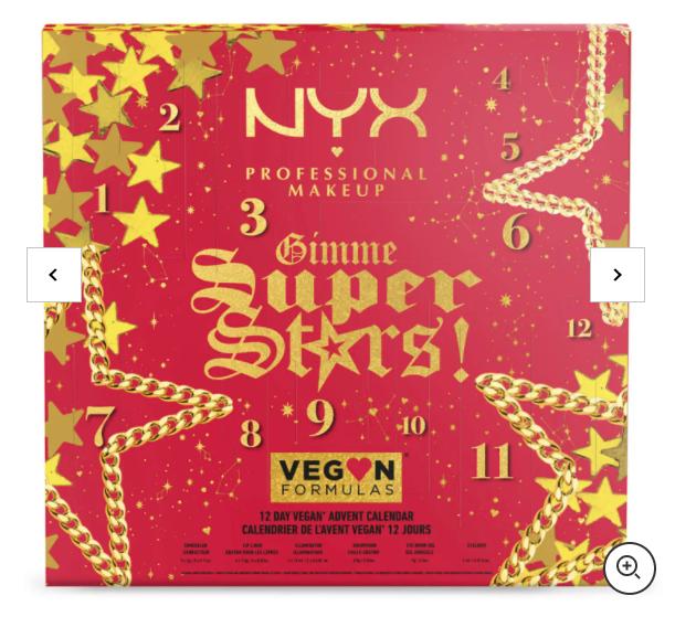 NYX Gimme Super Stars! Calendario dell'Avvento