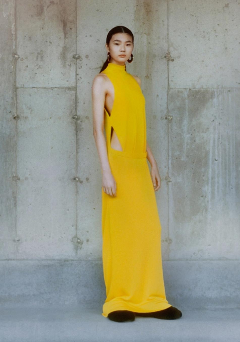 vestiti gialli