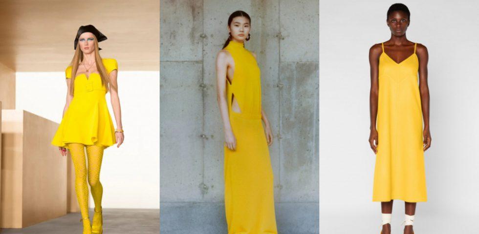 Vestiti gialli, tendenza dell'autunno inverno 2021/2022