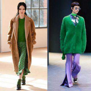 Tutte le sfumature di verde, il colore dell'inverno 2022