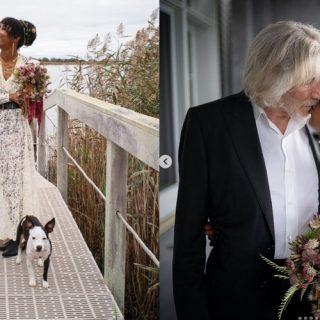 """""""Ho trovato qualcuno da tenermi stretto"""", Roger Waters si è sposato"""