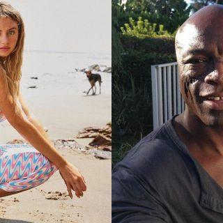 I dolci scatti padre-figlia di Leni Klum e Seal sul red carpet