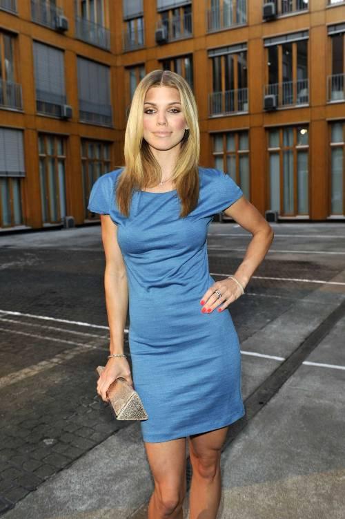 annalynne-mccord-in-a-little-blue-dress1