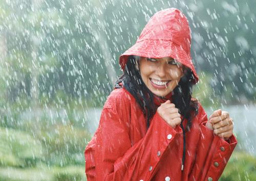 Capelli: acconciature per la pioggia | DireDonna