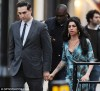 Amy Winehouse e Reg Traviss
