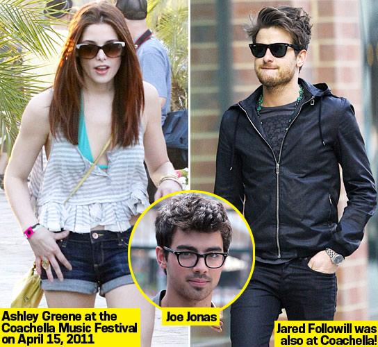Ashley Greene e Jared Followill al Coachella 2