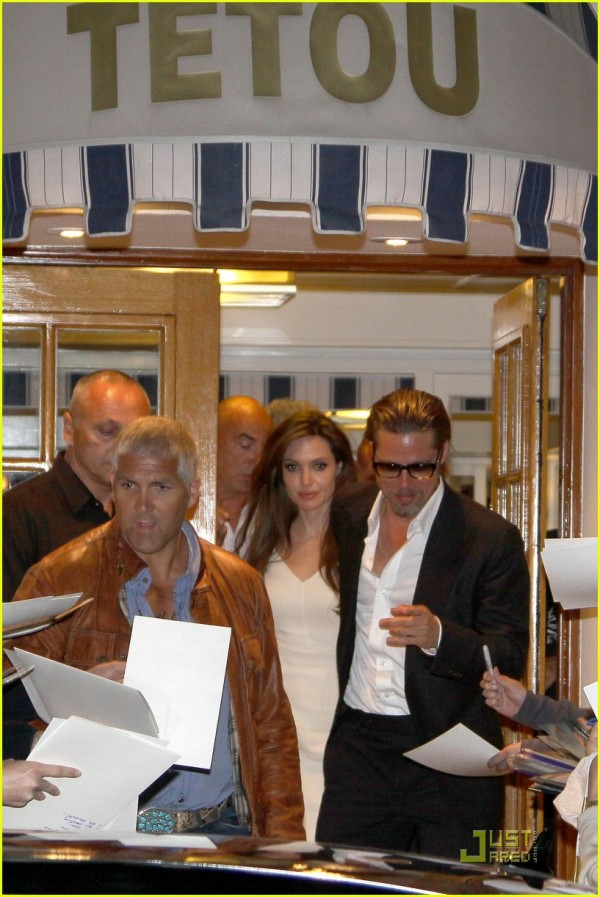 Angelina Jolie e Brad Pitt a Cannes 2