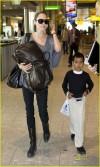Angelina con Maddox