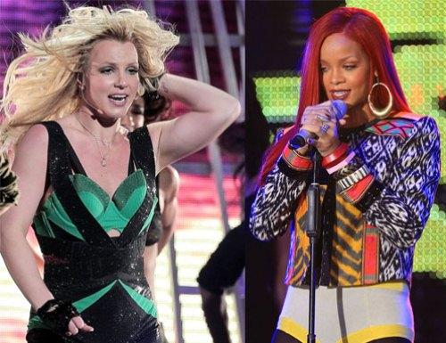 Britney Spears & Rihanna 2