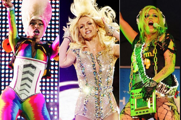 Britney Spears, Ke$ha e Nicki Minaj 12