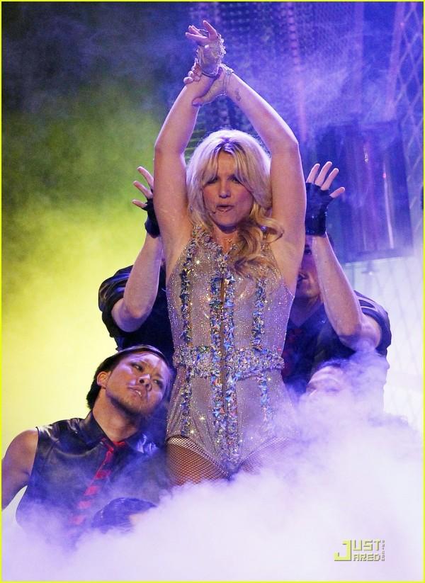 "Britney Spears presenta ""Femme Fatale"" a San Francisco 4"