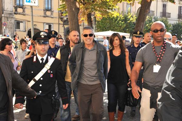 Elisabetta Canalis e George Clooney 2