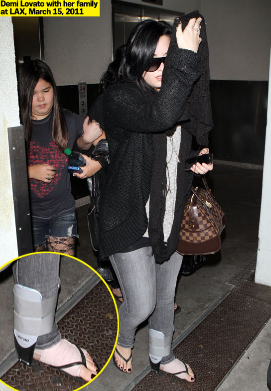 Demi Lovato steccata 2