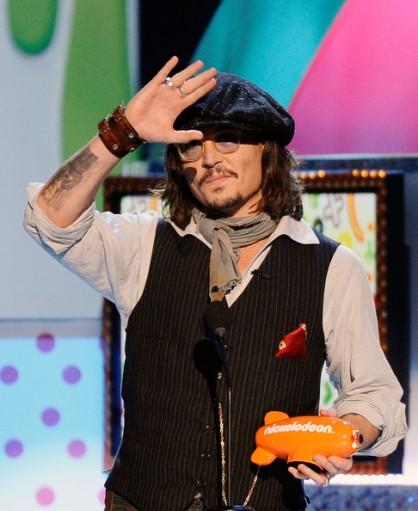 Johnny Deep ai Kids' Choice Awards 2