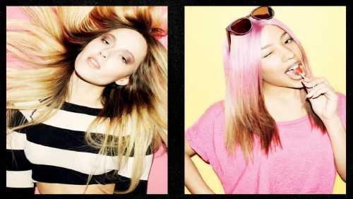 Dip dye hairstyle 40