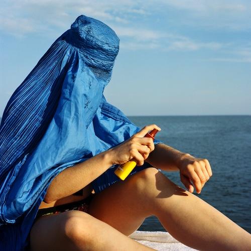 Donne con il burqa 2