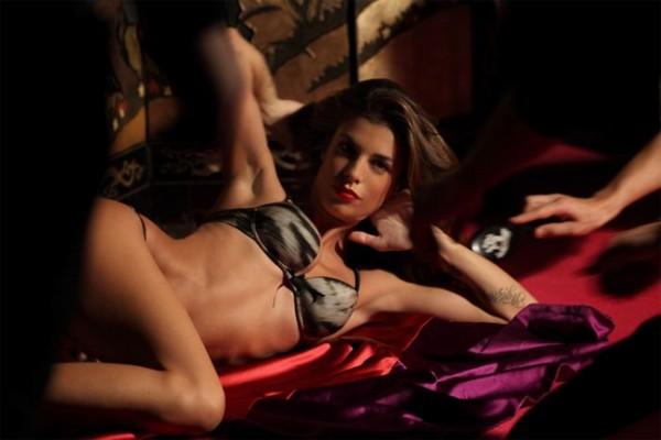 Elisabetta Canalis hot per Cavalli