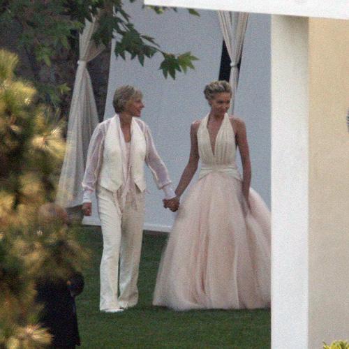 Portia De Rossi Wedding Gown: Ellen DeGeneres Regala 30.000 Dollari A Una Studentessa
