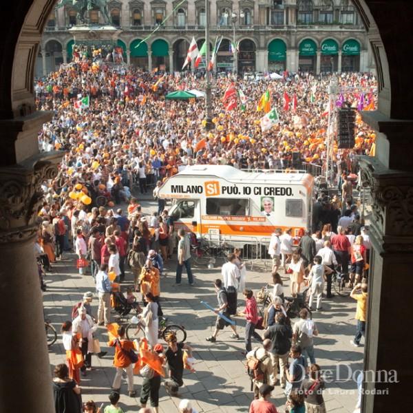 Festeggiamenti per Giuliano Pisapia, Laura Rodari 2