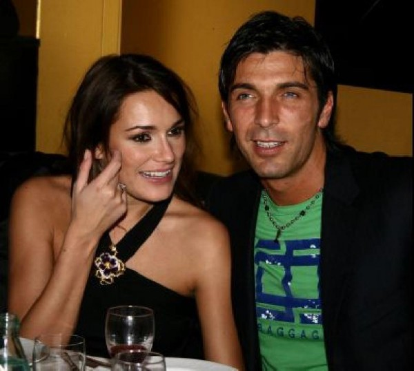 Gigi Buffon e Alena Seredova