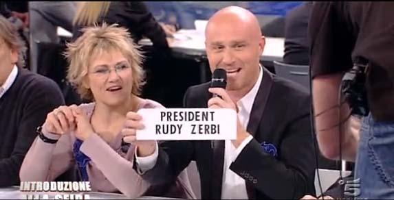 Rudy Zerbi e Diana Del Bufalo