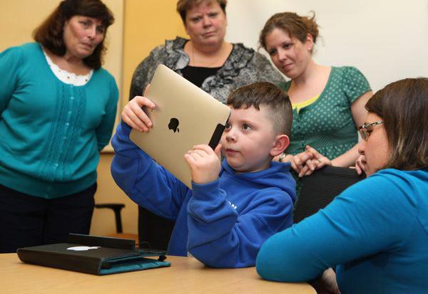 iPad all'asilo 2