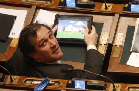 iPad in Parlamento 2