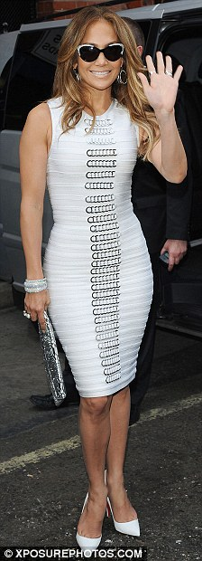 Jennifer Lopez a Parigi 2