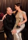La coppia durante la premiazione degli Oscar (2010)