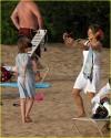 Jodie Foster in spiaggia con i figli (2008)
