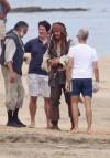 Prime riprese dai Pirati dei Caraibi 4