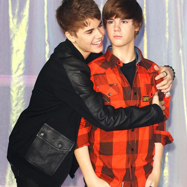 Justin Bieber al Madame Tussauds di Londra 2