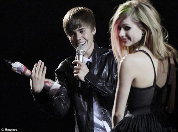Justin Bieber ai Brit Awards 2