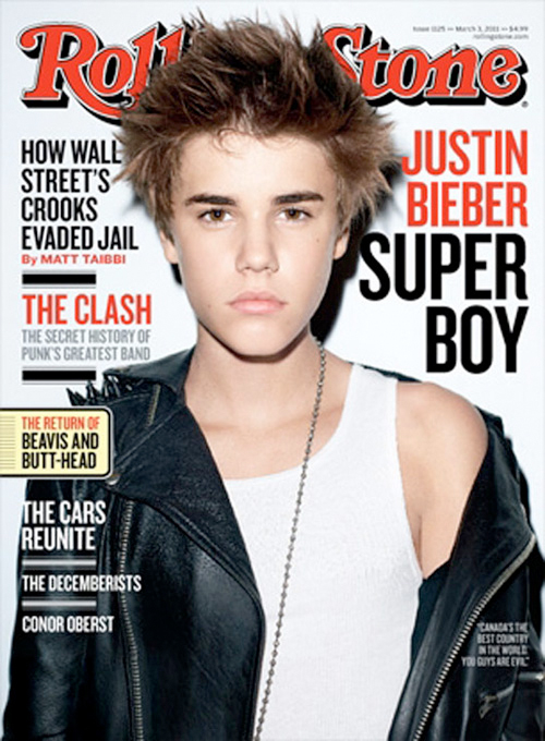 Justin Bieber su Rolling Stone 2