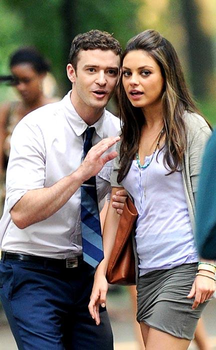 Justin Timberlake e Mila Kunis 2